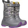 Lumi Waterproof Boots Steel Grey/Royal Lilac