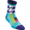 Chain Micro Crew Ultra Light Socks Teal