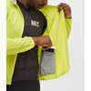 Equinox Windproof Cycle Jacket Acid Yellow