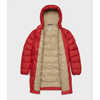 Besnow Long Jacket Deep Red