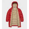 Besnow Long Jacket Deep Red