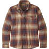 Fjord Lightweight Flannel Shirt Canopy: Sisu Brown