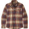Fjord Lightweight Flannel Shirt Canopy: Sisu Brown