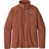 Better Sweater 1/4 Zip Century Pink