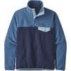 Light Weight Synchilla Snap-T Pullover New Navy/Woolly Blue