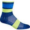 Chaussettes mi-mollet Escape Blue Stripe