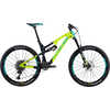 2019 Recluse Pro Bike Gloss Yellow/Turquoise