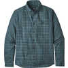 Vjosa River Pima Long Sleeve Cotton Shirt Aware Ombre: Tasmanian Teal