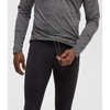 Collant de course Cold Rush Thermal Noir