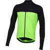 Quest Long Sleeve Jersey Black/Screaming Green