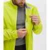 Manteau de vélo imperméable Downpour Lumix Jaune acide