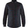 Ovik Flannel Shirt Dark Navy