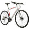 Silhouette Bicycle Silver/Red/Black