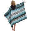Poncho Beach Towel Baja Aqua