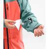 A-Cad Jacket Trellis Green/Radiant Orange/Weathered Black