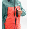 A-Cad Jacket Trellis Green/Radiant Orange/Weathered Black