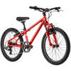 Dash Bicycle Red/Silver