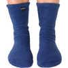Fleece Socks Denim