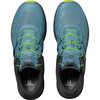 Chaussures de course sur sentier Ultra Pro Vitriol bleu/Ébène/Lime acide