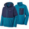 3-in-1 Snowshot Jacket Classic Navy w/Balkan Blue