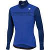 Giro Thermal Jersey Blue Cosmic/Blue
