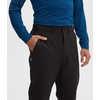 Pantalon coquille souple Tobo Noir