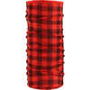 Merino Wool Tubular Headwear Red Plaid