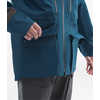 A-Cad Jacket Blue Wing Teal/Weathered Black