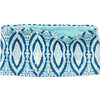 Bandeau réversible en laine mérinos 250 Médaillon bleu Nil