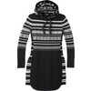 Alpine Lodge Pattern Dress Black