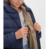 Besnow Long Jacket Deep Navy