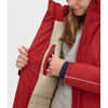 Braveon Toaster Parka Deep Red