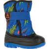 Snowbug 4 Boots Blue/Orange