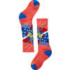 Chaussettes Wintersport Yetti Betty Corail éclatant