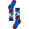 Wintersport Yo Yetti Socks Bright Blue
