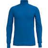 Baselayer Active Warm Turtle Neck Long Sleeve Directoire Blue