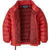 Baby Down Sweater Fire W/Oxide Red