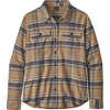 Fjord Flannel Long Sleeve Shirt Cabin Time/Bearfoot Tan