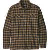 Fjord Flannel Shirt Castroville: Ink Black