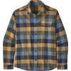 Fjord Lightweight Flannel Shirt Unbroken: New Navy