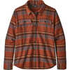 Fjord Flannel Long Sleeve Shirt Cabin Time/Barro Brown