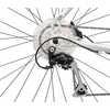 Vélo à cadre ouvert Silhouette Argent/Rouge/Blanc