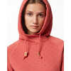 Burney Hoodie Mineral Red/Small Tree