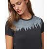 T-shirt Constellation Juniper Noir météorite chiné