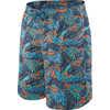 "Cannonball 2N1 9"" Shorts Blue Tropics"