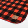Yukon Polar Fleece Blanket Red