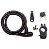 Day Tripper Cable Key 10mm x 1.8m Lock Black