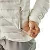 Down Sweater Hoody Birch White