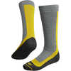 Snowpark Merino Ski Socks Light Grey/Antique Moss