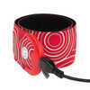 SlapLit Rechargeable LED Slap Wrap Red